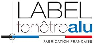 Label Fenêtre Alu